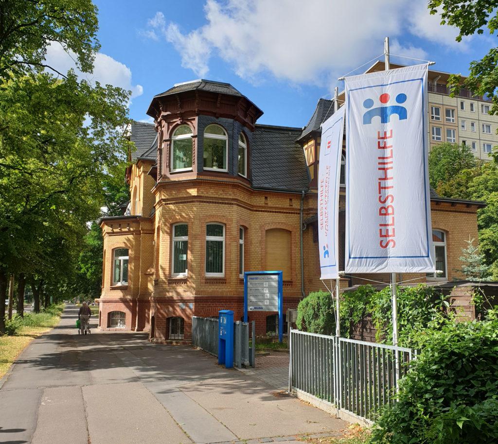 Ansicht der Selbsthilfekontaktstelle Halle-Saalekreis